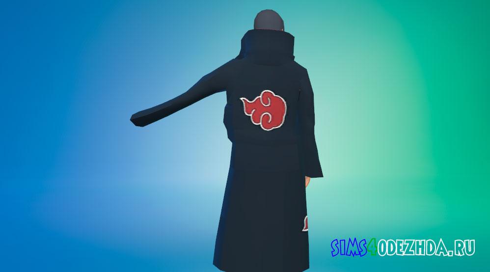 Одежда Итачи Учиха для Симс 4 - фото 2