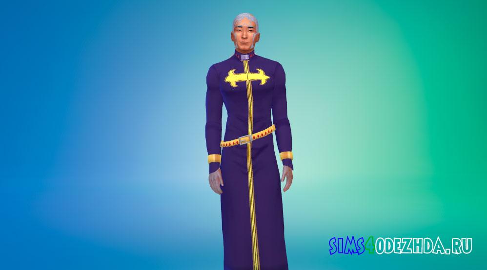 Одежда Энрико Пуччи для Симс 4 - фото 1