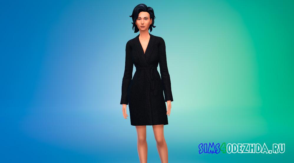 Пак с женскими халатами для Симс 4 - фото 2
