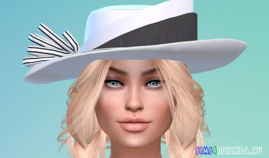 Шикарная женская шляпа для Симс 4 - фото 1