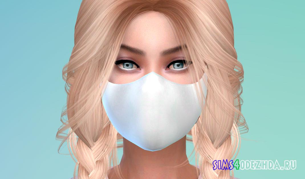 Стильная юнисекс маска для Симс 4 - фото 1
