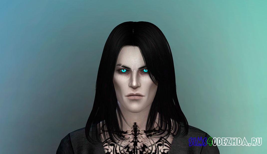 Сим-вампир Люциус Вайтстар для Симс 4 - фото 1