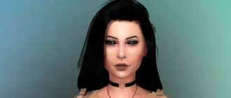 Симка-вампир Блэр Дитто для Симс 4 - фото 1