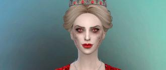 Симка-вампир Мэри Штрауд для Симс 4 - фото 1