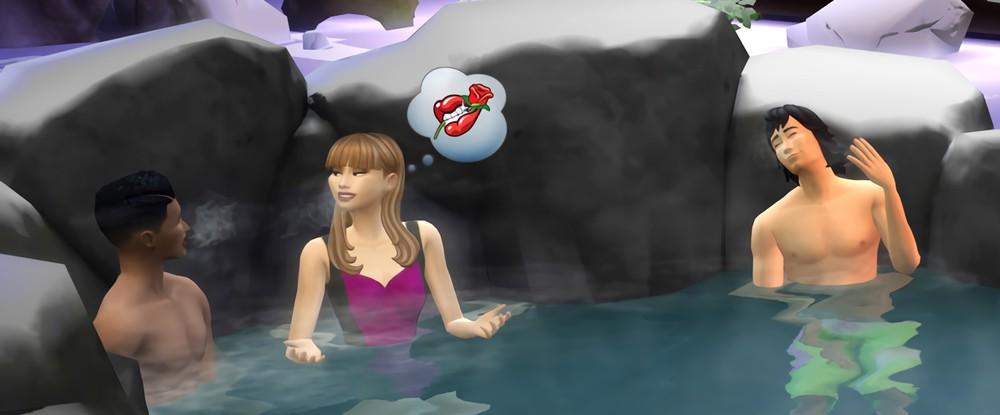 The Sims 4 получит зимнее дополнение с чувствами, дзеном и Японией - фото