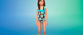 Коллекция купальных костюмов для Симс 4 – фото 1