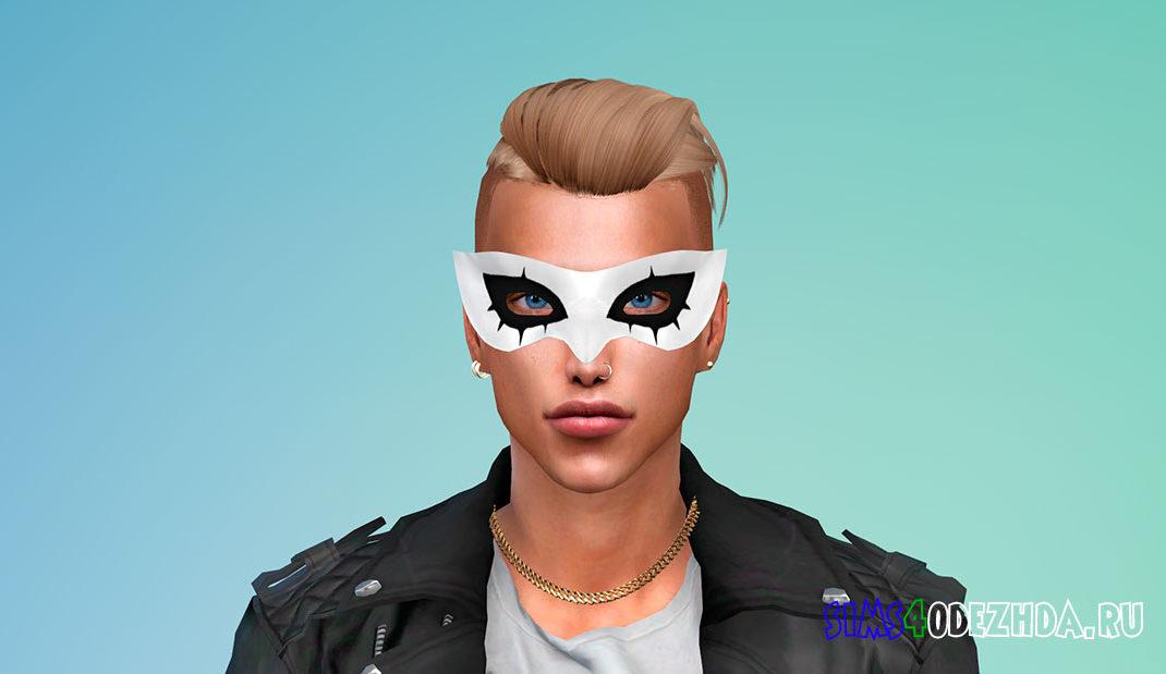 Маска Джокера из Persona 5 для Симс 4 – фото 1