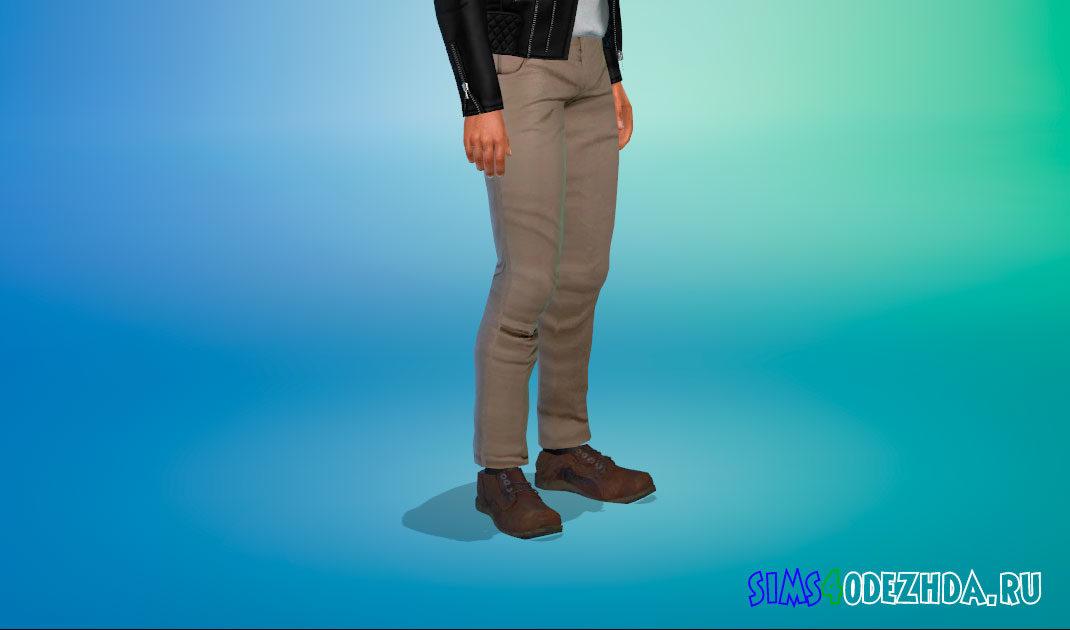 Ботинки Нейтана Дрейка для Симс 4 – фото 1