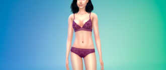 Скин Slider Compatible Skin HQ от Mirabella для Симс 4 – фото 1