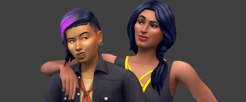 В The Sims 4 добавили сотню тонов кожи для создания более разнообразных героев - фото