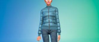 Куртка Journey для Симс 4 – фото 1