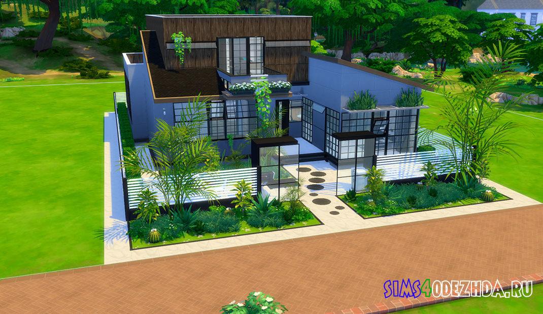 Дом в корейском стиле для Симс 4 - фото