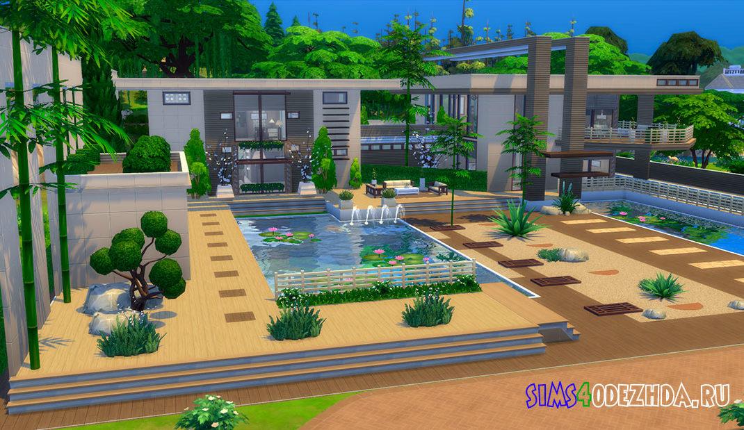 Шикарный современный дом для Симс 4 - фото