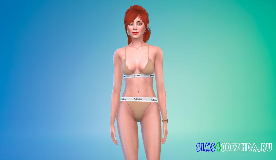 Детализированный женский скин для Симс 4 – фото 1