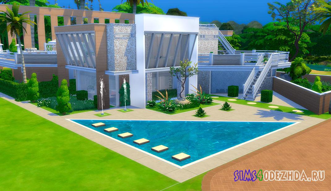 Австралийский дом для Симс 4 – фото