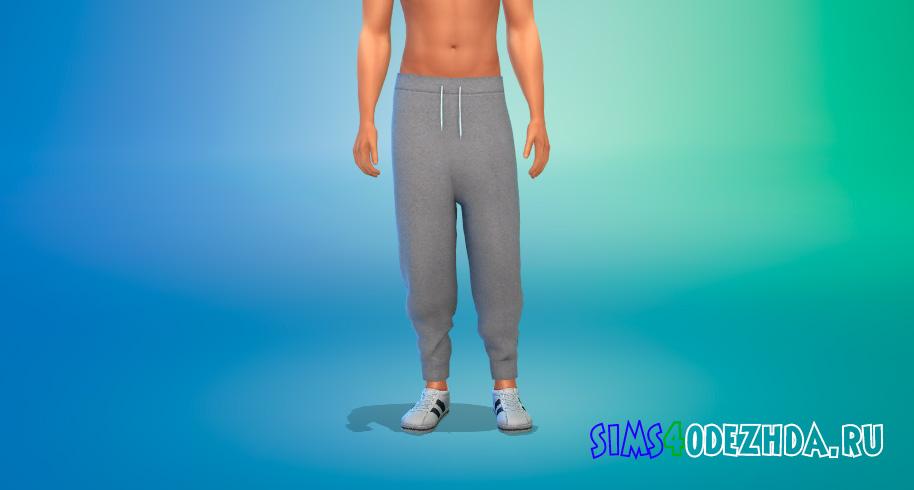 Мужские спортивные штаны для Симс 4 – фото 1