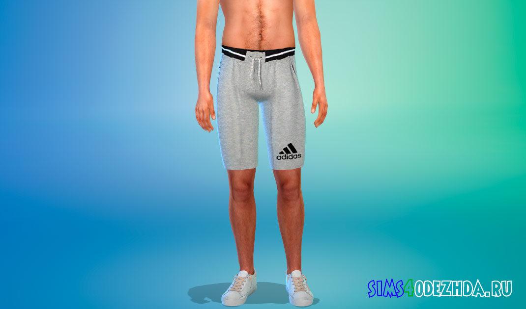 Мужские шорты Adidas для Симс 4 – фото 1