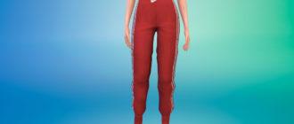 Спортивные штаны Найк для Симс 4 – фото 1