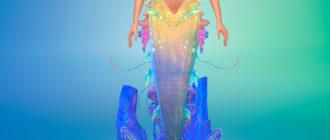 Яркий хвост русалки для Симс 4 – фото 1