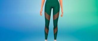 Летние спортивные штаны для Симс 4 – фото 1