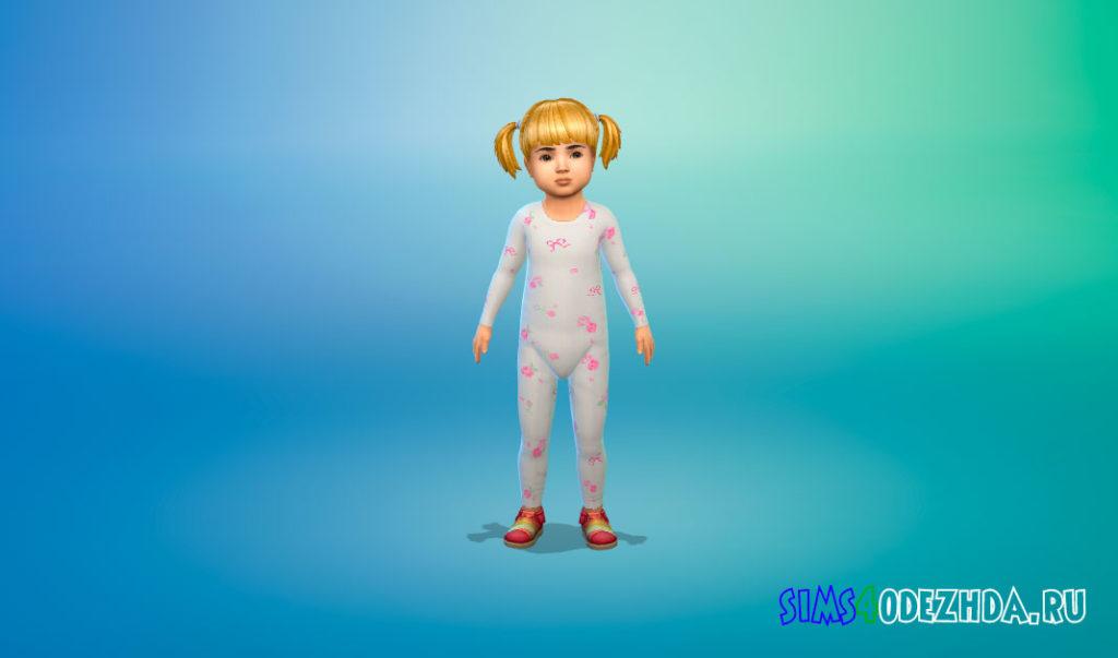 Милые комбинезоны для малышей для Симс 4 – фото 3