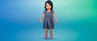 Набор платьев для малышей для Симс 4 – фото 1