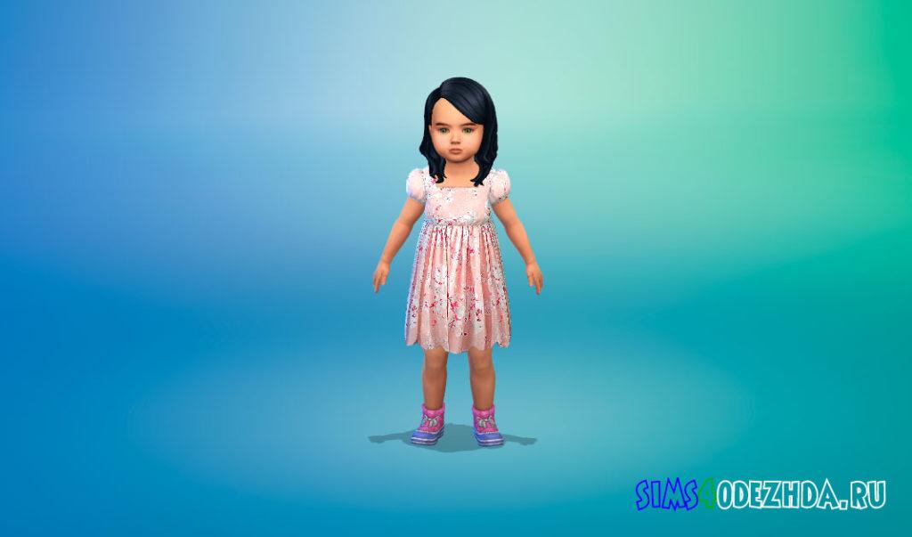 Набор платьев для малышей для Симс 4 – фото 2