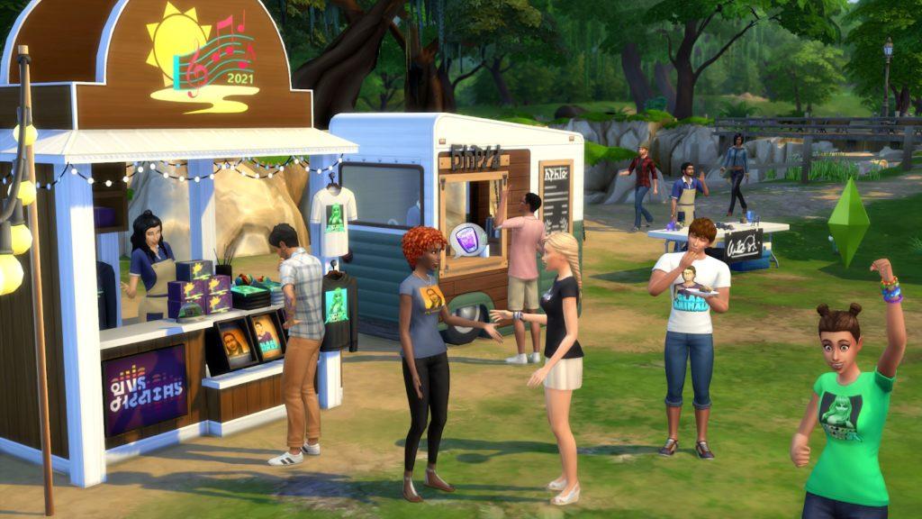 В The Sims 4 устроят музыкальный фестиваль на симлише - фото 3