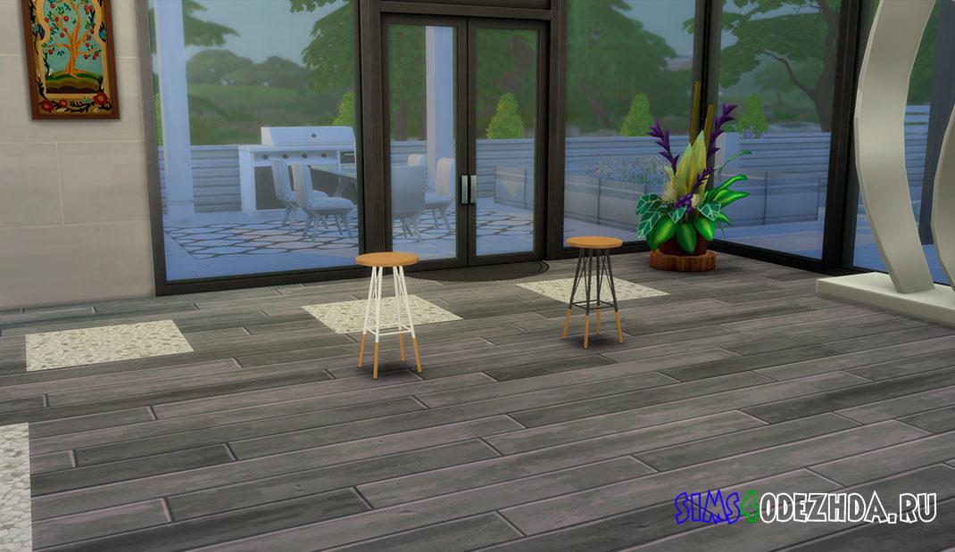Барный стул для кухни для Симс 4 – фото