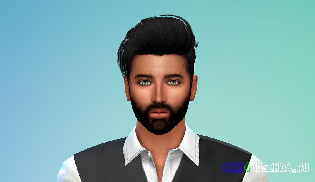 Борода N15 для Симс 4 – фото 1