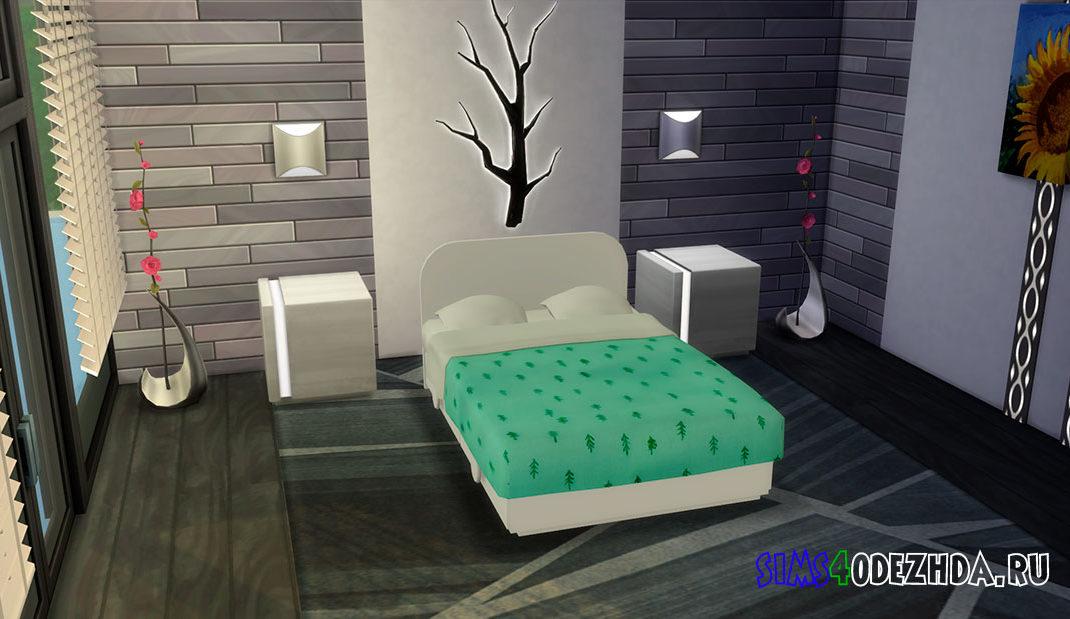 Детская двуспальная кровать для Симс 4 – фото 1