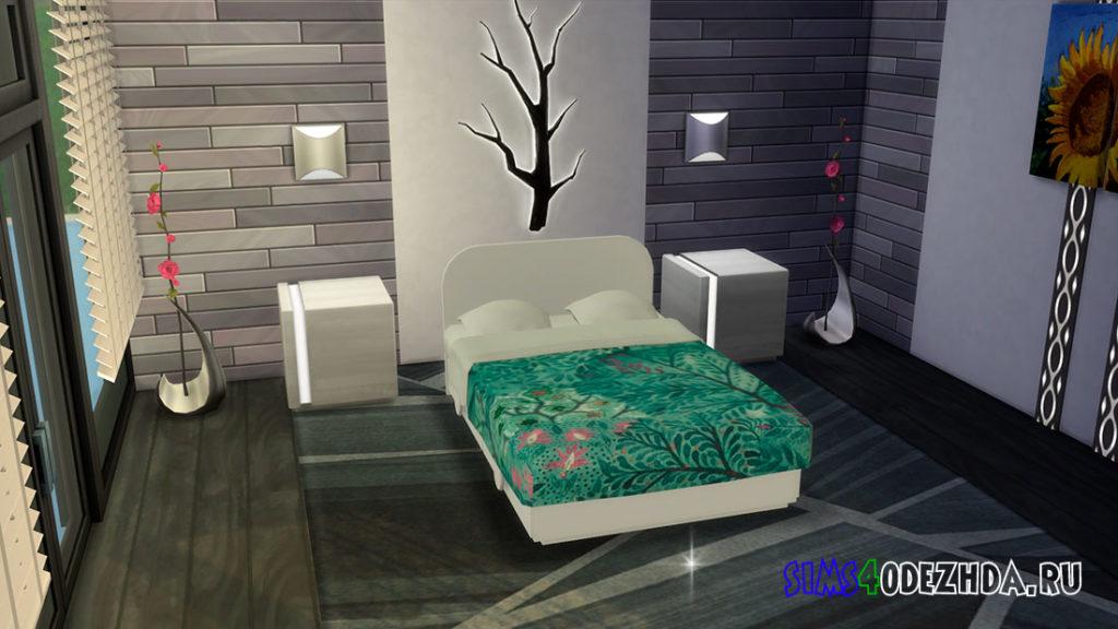 Детская двуспальная кровать для Симс 4 – фото 2