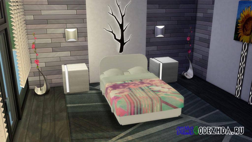 Детская двуспальная кровать для Симс 4 – фото 3