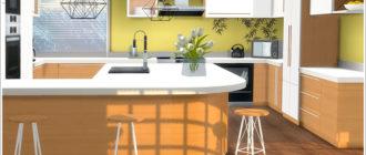 Эко-кухня-для-Симс-4-–-фото-1