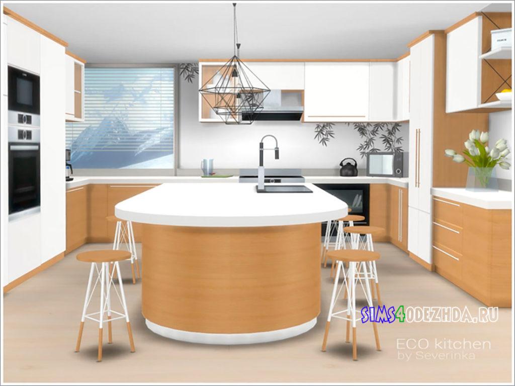 Эко-кухня-для-Симс-4-–-фото-2
