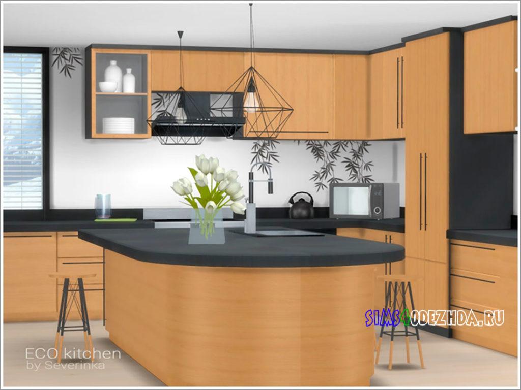 Эко-кухня-для-Симс-4-–-фото-3