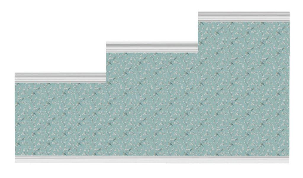 Коллекция-стен-с-цветочным-узором-и-бордюрами-для-Симс-4-–-фото-1