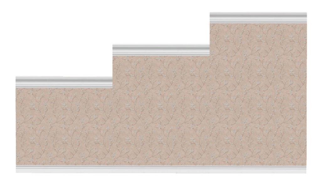 Коллекция-стен-с-цветочным-узором-и-бордюрами-для-Симс-4-–-фото-2