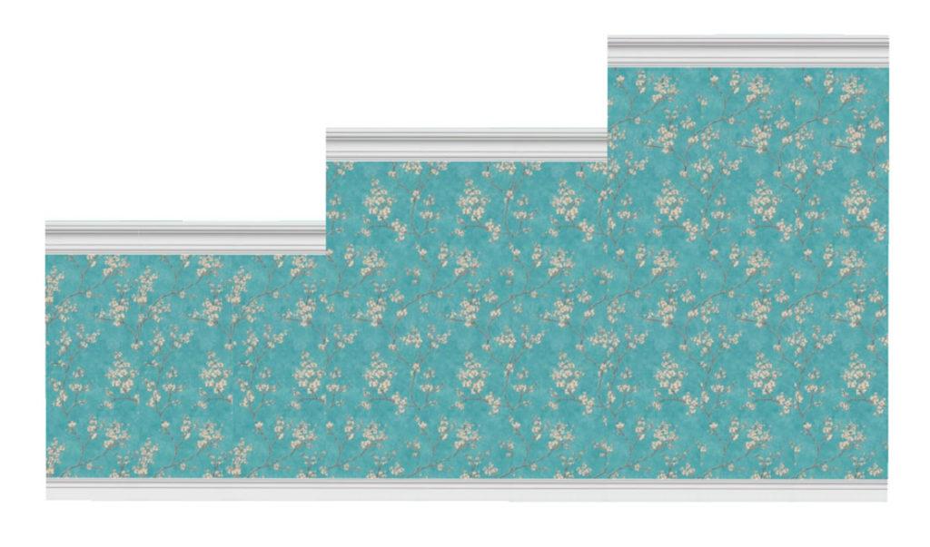 Коллекция-стен-с-цветочным-узором-и-бордюрами-для-Симс-4-–-фото-3