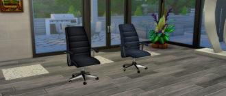 Комфортный офисный стул для Симс 4 – фото
