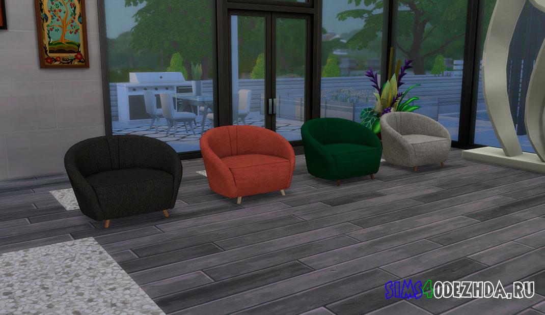 Кресло для гостиной для Симс 4 – фото
