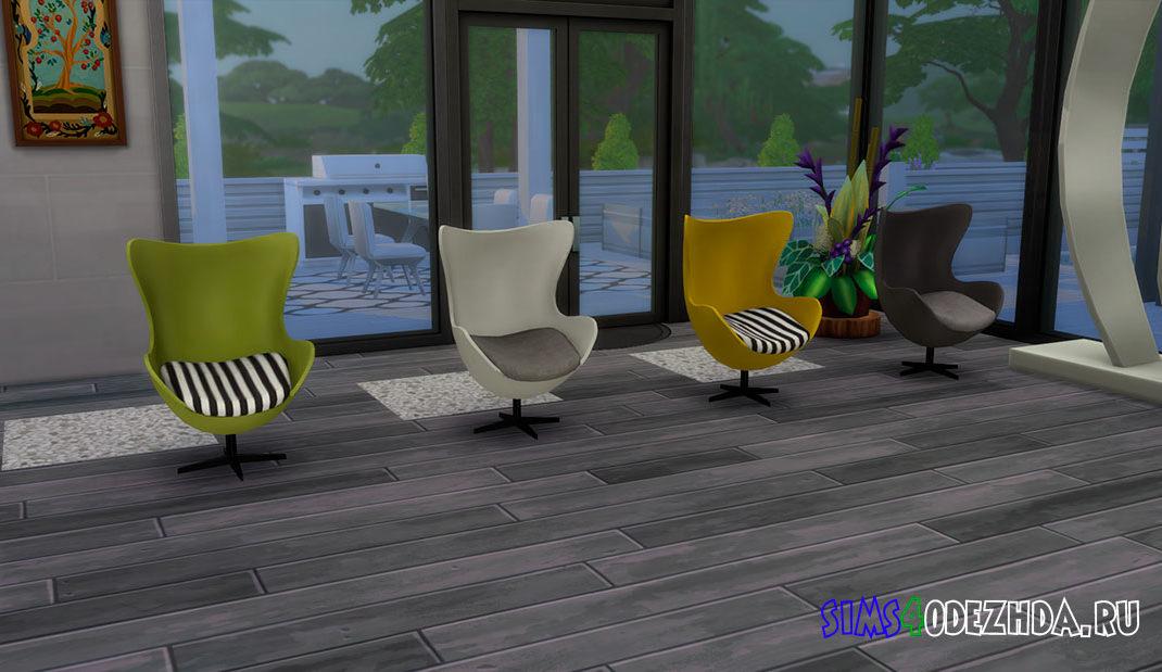 Кресло-яйцо для Симс 4 – фото