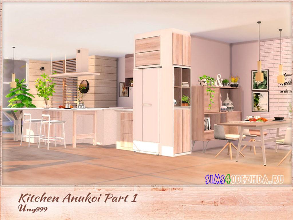 Кухня-Anukoi-для-Симс-4-–-фото-2