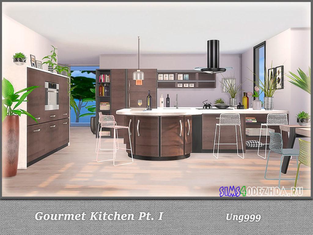 Кухня-Gourmet-Kitchen-для-Симс-4-–-фото-2