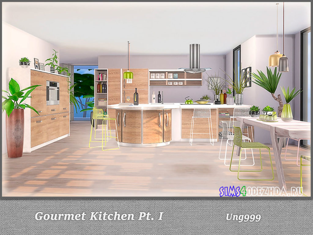 Кухня-Gourmet-Kitchen-для-Симс-4-–-фото-3