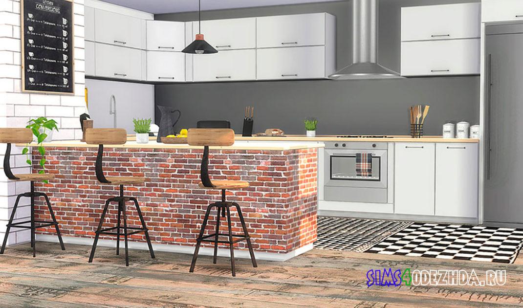 Кухня-Helium-Kitchen-для-Симс-4-–-фото-1