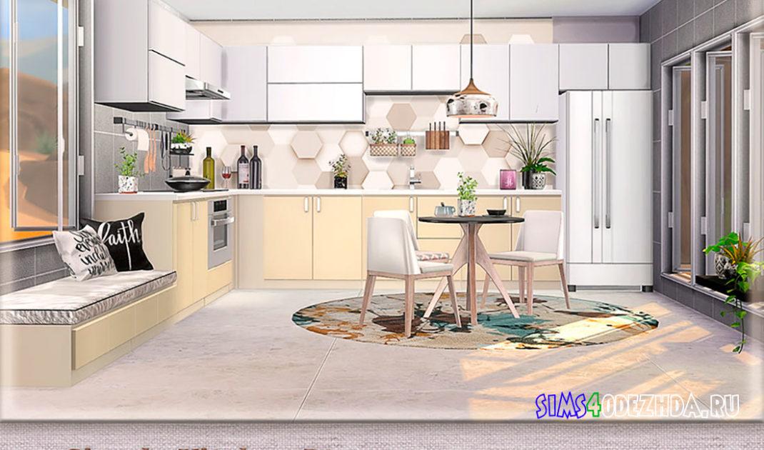 Кухня-Simple-Kitchen-для-Симс-4-–-фото-1