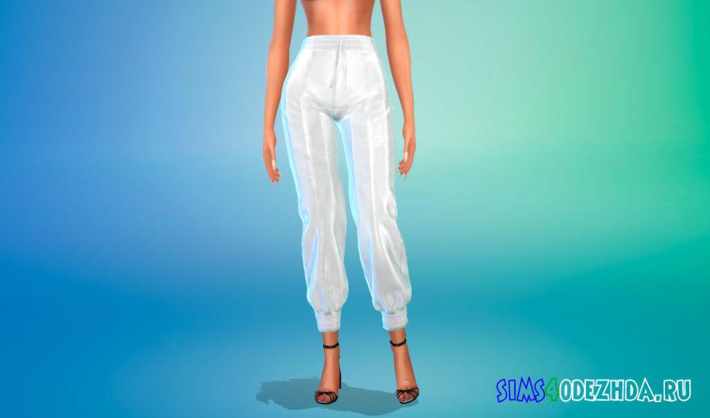 Мешковатые женские штаны для Симс 4 – фото 2