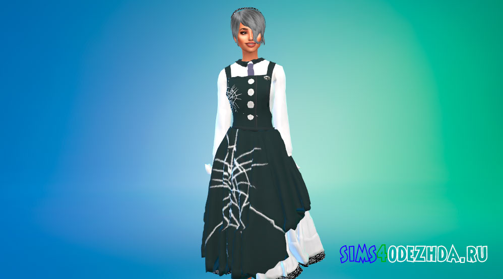 Одежда Кируми Тоджо для Симс 4 – фото 1