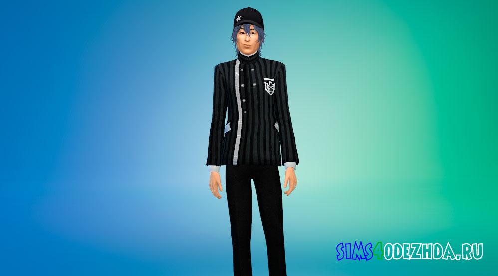 Одежда Шуичи Саихара для Симс 4 – фото 1